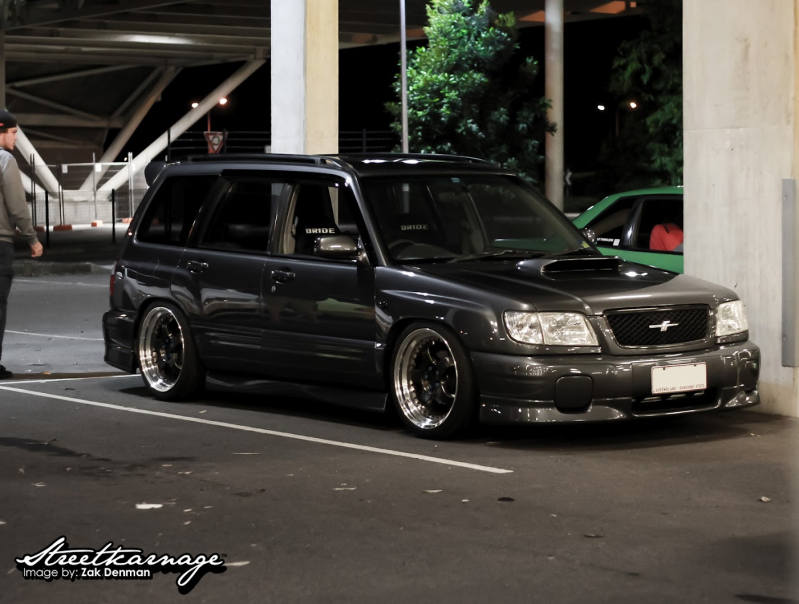 Stanced Forester